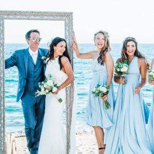 luxury wedding stylist , Ibiza Hair and Make up by Kinga Evans , Formentera stylist