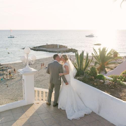 Ibiza Wedding at Cas Mila restaurant , Cala Tarida
