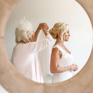 Ibiza Bride hair