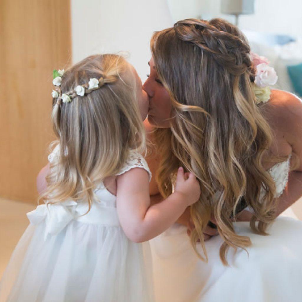 Wedding hair and make up by Kinga Evans