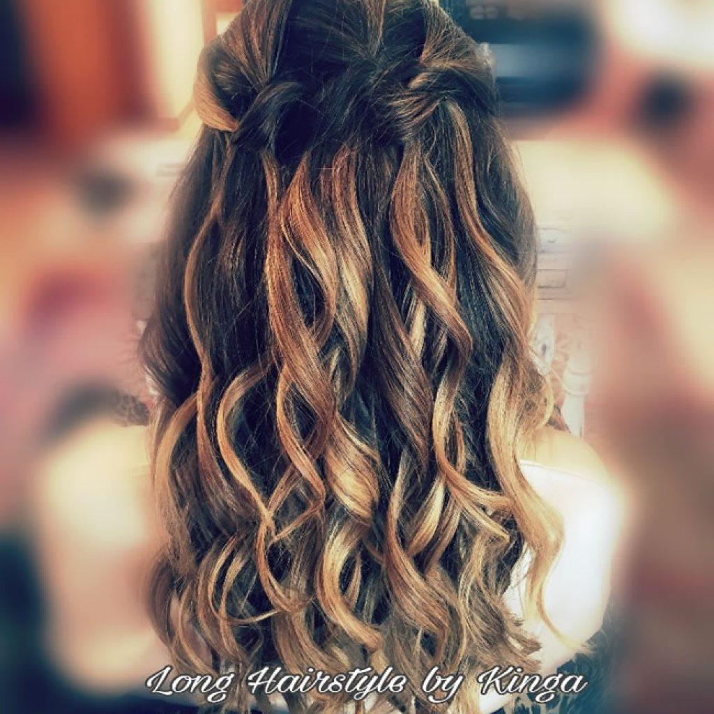 Long hairstyles , curling , villa service , Ibiza Hair and Make up , wedding hairstyles