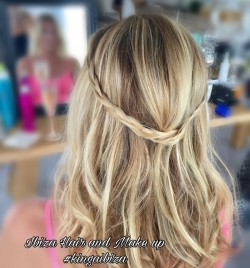 Wedding Hairstyles for Ibiza Brides by Kinga Evans
