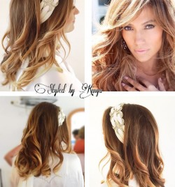 Flawless Bridal Blowdry inspired by JLo hairstyle, with Kinga at Ibiza Hair and Make Up