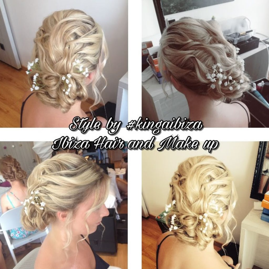 Grand Palladium hotel service of Ibiza hair and make up, Playa de Bossa , save your time and money , book our mobile team to get you ready for the special event , wedding or a night out .
