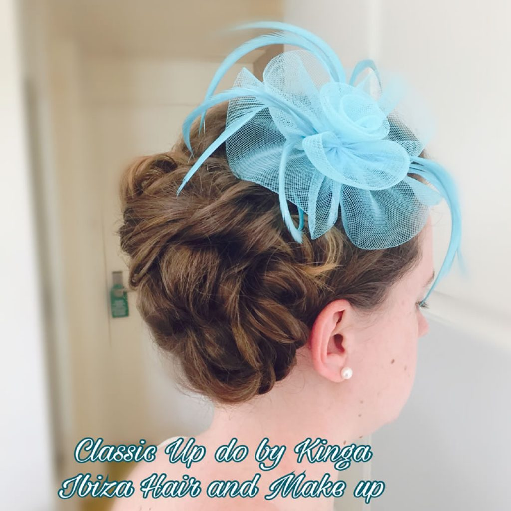 Hawaii hotel , hairstyling for the wedding guests