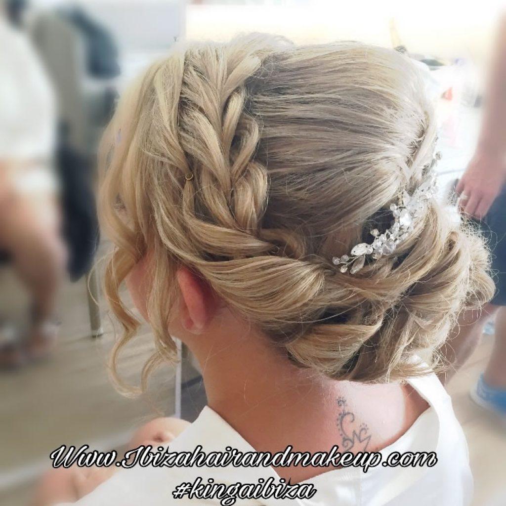 Sensatori Hotel in Cala Tarrida , Bridal hair and make up by Kinga Ibiza Hair and Make up ,