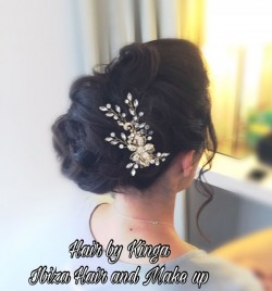"The inspiration behind this style was Eva Longoria hairstyle , Let me share the feedback from my client after the wedding day that took place in amazing Elixir Shore  "" thank you so much for being so wonderful and for capturing the look I wanted so perfectly"" ."