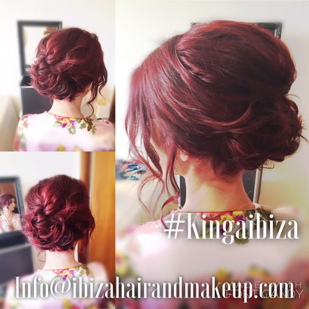 Inspired by Natalieann hairstyles, wedding guests , mobile service , villa near Es Vedra