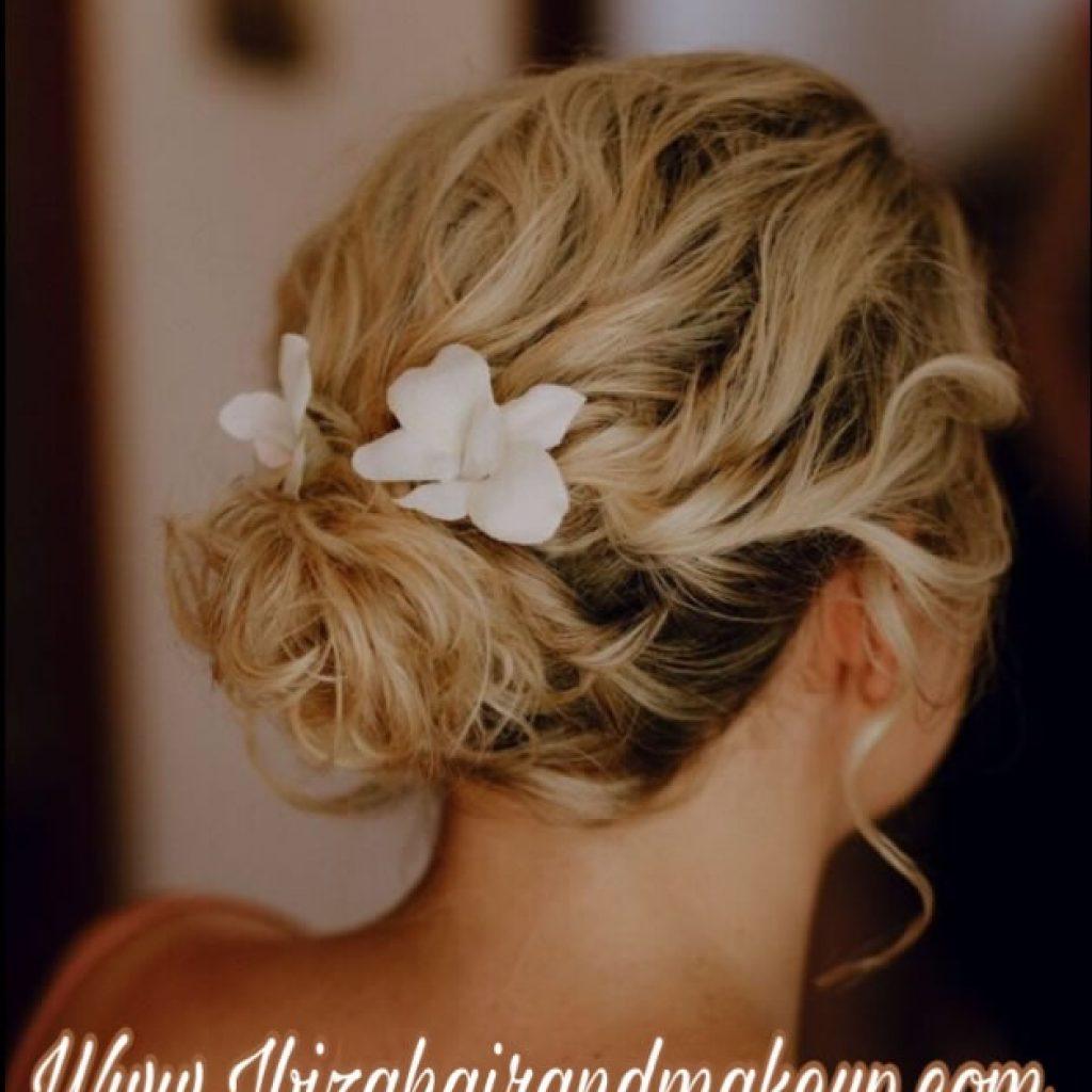 Experimental Beach wedding hair and make up