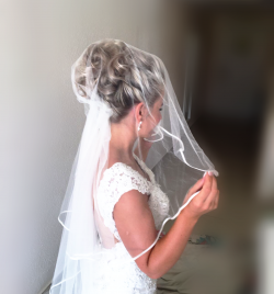 Location Can Mila , Bridal hair by Kinga Evans
