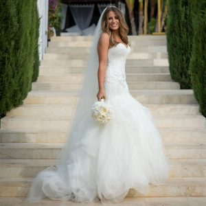 Luxury Wedding stylist by Ibiza Hair and Make up by Kinga Evans