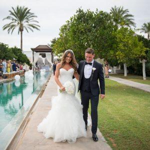five star weddings , hair and make up by Kinga , Atzaro Wedding