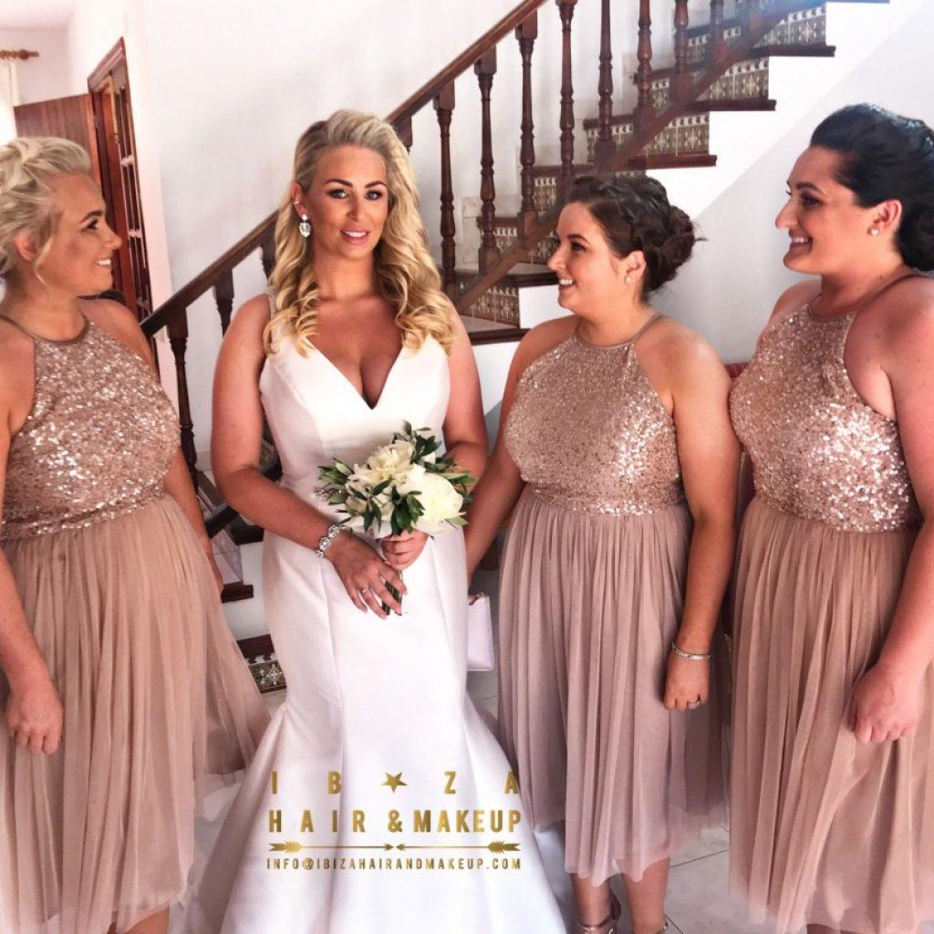 , Aguas de Ibiza , Private Villa , Cas Mila Wedding stylist , Villa private hair and make up artist , Ibiza ,