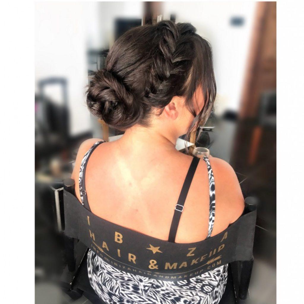 Wedding Hairstyles for Ibiza Brides by Kinga Evans