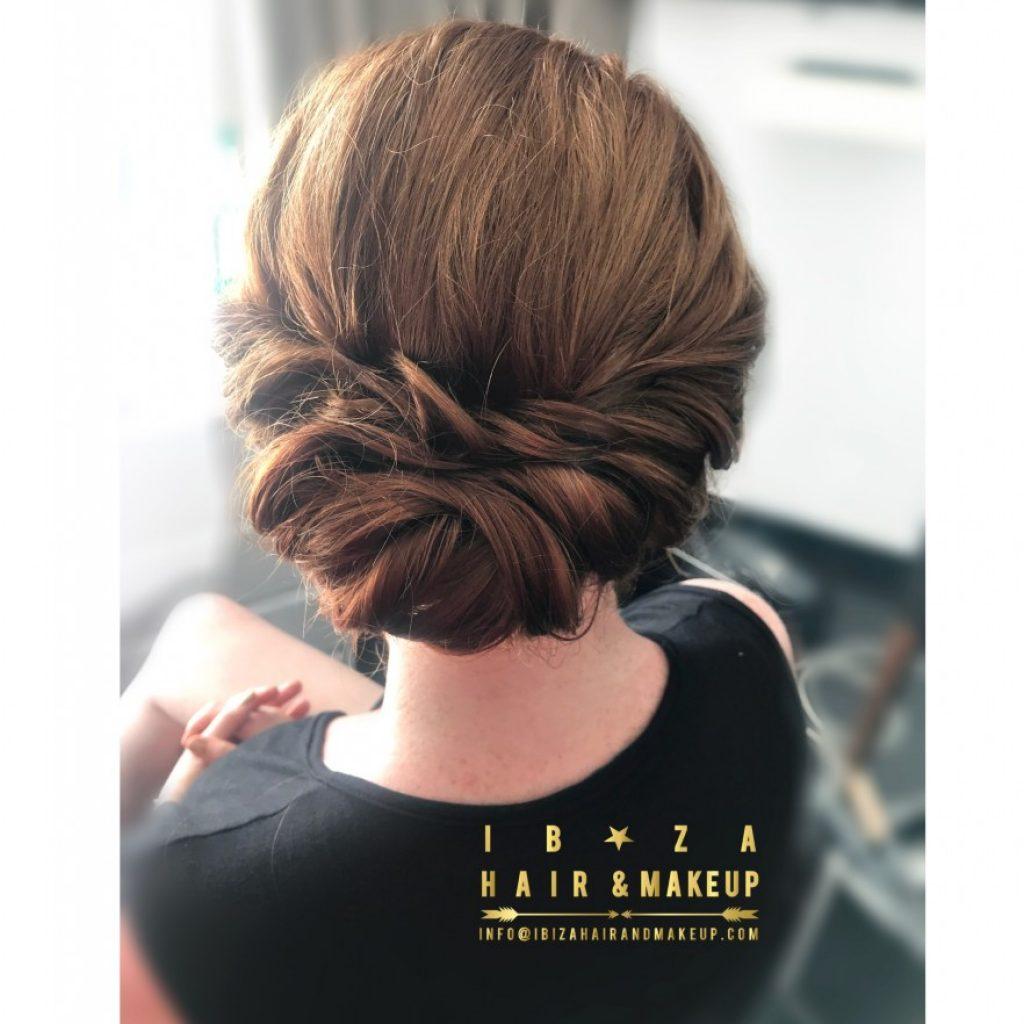 hairstyles by kinga , ibiza hair , ibiza make up