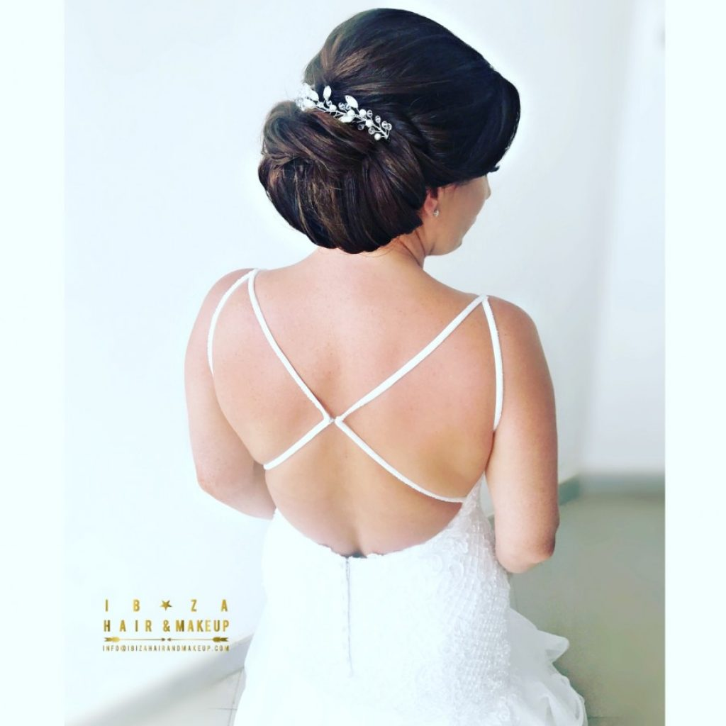 Bridal wedding hair by Kinga, photo by www.gypsywestwood.com ,