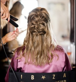 Wedding Bridal undo by Kinga , director of Ibiza Hair and Make up