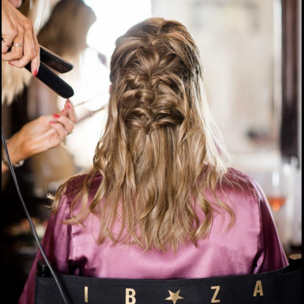 wedding hair, bridal hair