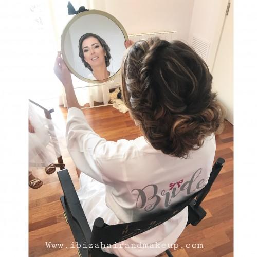 Wedding Hair Make Up by Kinga Evans